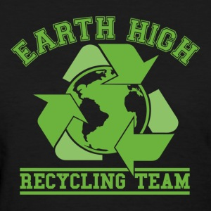 Black Earth Recycling Team  Women's T-Shirts - Women's T-Shirt