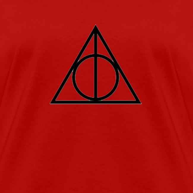 Wizards Vampires R Us Deathly Hallows Symbol Shirt Womens T Shirt