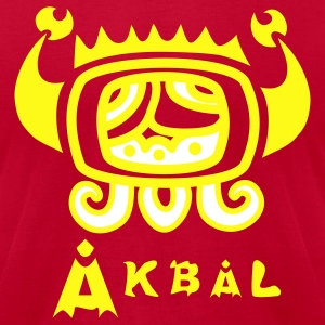 Akbal Tzolkin Maya Art - Men's T-Shirt by American Apparel