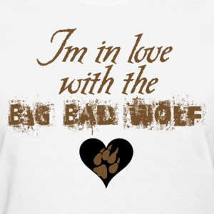 In love with the Big Bad Wolf Jacob Black New moon tee - Women's T-Shirt