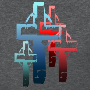 Colorful Crosses - Women's T-Shirt