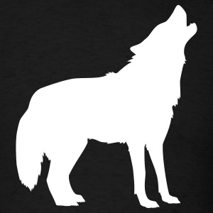 Black Wolf T-Shirts - Men's T-Shirt