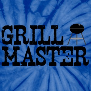 Spider red grill_master (charcoal grilling) T-Shirts - Unisex Tie Dye T-Shirt