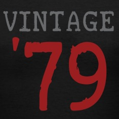 Black vintage_1979 Women's T-Shirts