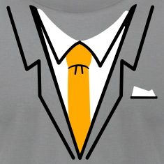 Slate fake suit and tie (3c) T-Shirts