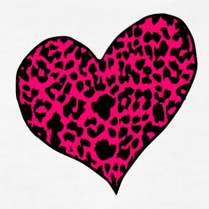 White cheetah_heart_rose Kids' Shirts - Kids' T-Shirt