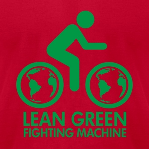 Lemon Lean Green Fighting Machine T-Shirts - Men's T-Shirt by American Apparel