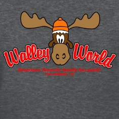 Deep heather Walley World Vacation Women's T-Shirts