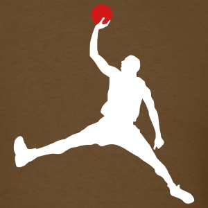 Brown Basket T-Shirts - Men's T-Shirt