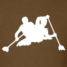 Brown canoe T-Shirts