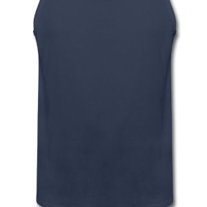 Navy fresh T-Shirts - Men's Premium Tank