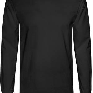 Black your girlfriend loves me by wam T-Shirts - Men's Long Sleeve T-Shirt