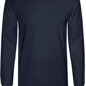 Navy thelightcross T-Shirts - Men's Long Sleeve T-Shirt