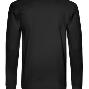 Black I Heart My Boo Zip Hoodies/Jackets - Men's Long Sleeve T-Shirt