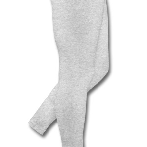Gray cupid with heart (2c) Long Sleeve Shirts - Leggings by American Apparel