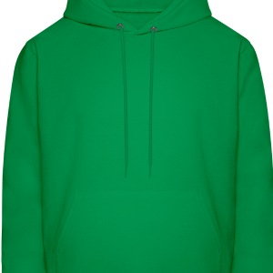 Forest green cute irish panda with clover leaf St Patricks Day T-Shirts - Men's Hoodie