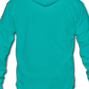 Turquoise Sausage T-Shirts - Unisex Fleece Zip Hoodie by American Apparel