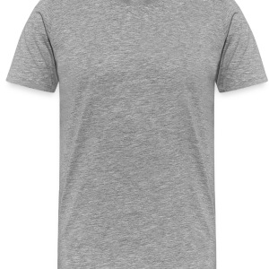 Heather grey blame it on the boogies Long Sleeve Shirts - Men's Premium T-Shirt