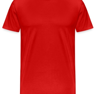 Red skateboarding_extreme_sport Caps - Men's Premium T-Shirt