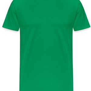 St Paddy's Day Leprechaun Smiling Apron - Men's Premium T-Shirt