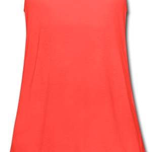 Tuxedo T Shirt Deluxe Orange - Women's Flowy Tank Top by Bella