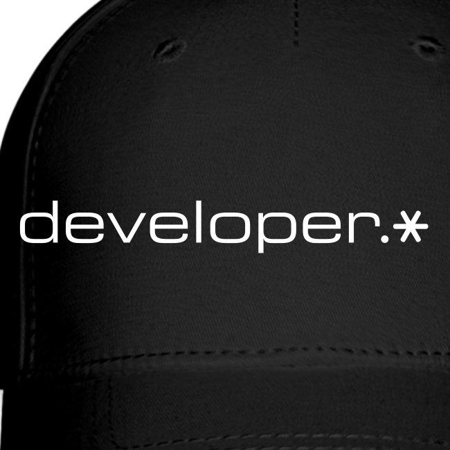 Black Cap w/ White d.* Logo
