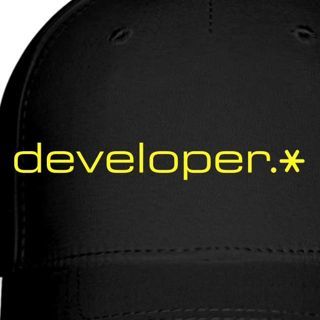 Black Cap w/ Yellow d.* Logo