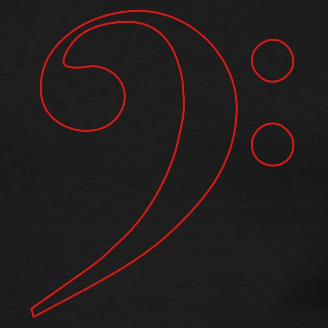 Red Bass Clef