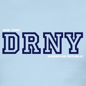 Red/white DRNY T-Shirts - Men's Ringer T-Shirt