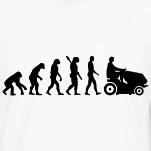 Evolution Lawn mower T-Shirts - Men's Premium Long Sleeve T-Shirt