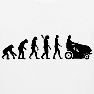 Evolution Lawn mower T-Shirts - Men's Premium Tank