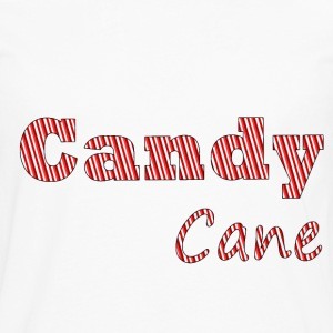 Candy cane women t-shirt - Men's Premium Long Sleeve T-Shirt