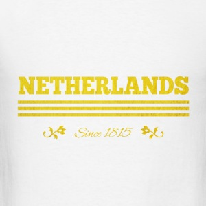 vintage golden NETHERLANDS since 1815 - Men's T-Shirt