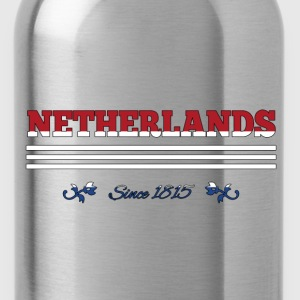 vintage flag NETHERLANDS since 1815 - Water Bottle