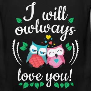 owls Hoodies - Men's Premium Tank