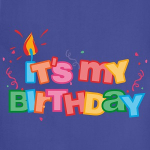 It's My Birthday Letters Kids' Shirts - Adjustable Apron