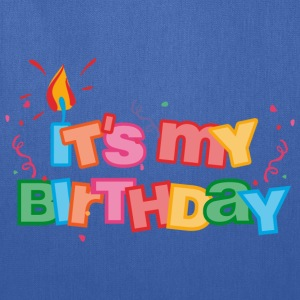 It's My Birthday Letters Kids' Shirts - Tote Bag