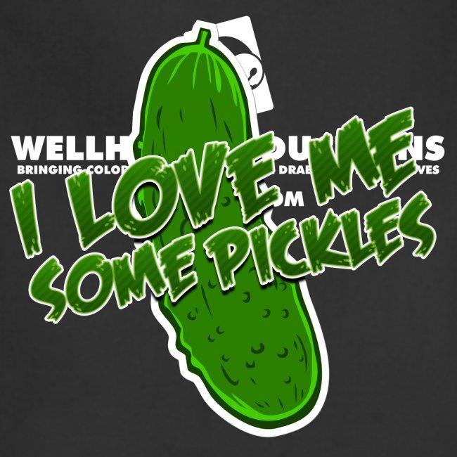 I Love Me Some Pickles Men's T-Shirt