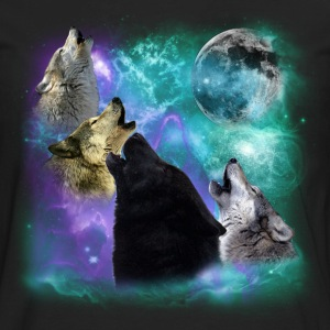 Wolves Coven Emeral night 2 CR Hoodies - Men's Premium Long Sleeve T-Shirt