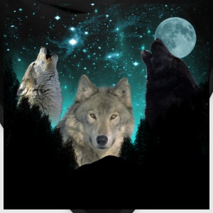 wolf Background forest scene 2 CR Sweatshirts - Bandana