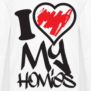 i love my homies Women's T-Shirts - Men's Premium Long Sleeve T-Shirt