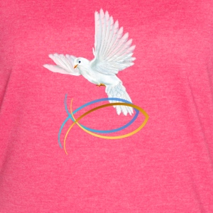 Dove and Fish Symbol-Easter - Women's Vintage Sport T-Shirt