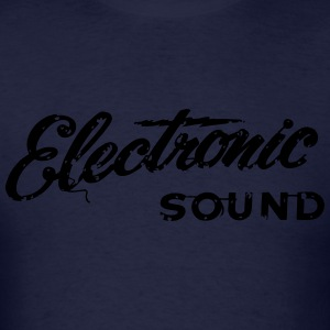electronic sound t-shirt - Men's T-Shirt