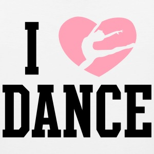 I heart Dance Women's T-Shirts - Men's Premium Tank