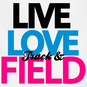 Live Love Track & Field Women's T-Shirts - Adjustable Apron
