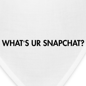 What's your snapchat? Women's T-Shirts - Bandana