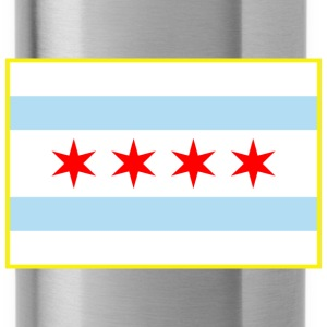Flag of Chicago - Water Bottle