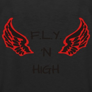 F.L.Y. 'N HiGH WINGS Polo Shirts - Men's Premium Tank