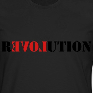 Love Revolution T-Shirts - Men's Premium Long Sleeve T-Shirt