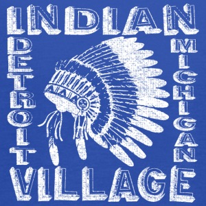 Indian Village Detroit Michigan Apparel T-shirts Sweatshirts - Women's Flowy Tank Top by Bella